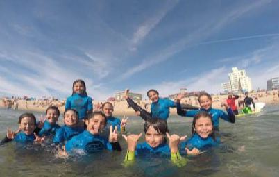 SURF EM FAMÍLIA   COSTA DA CAPARICA - 30 MAIO