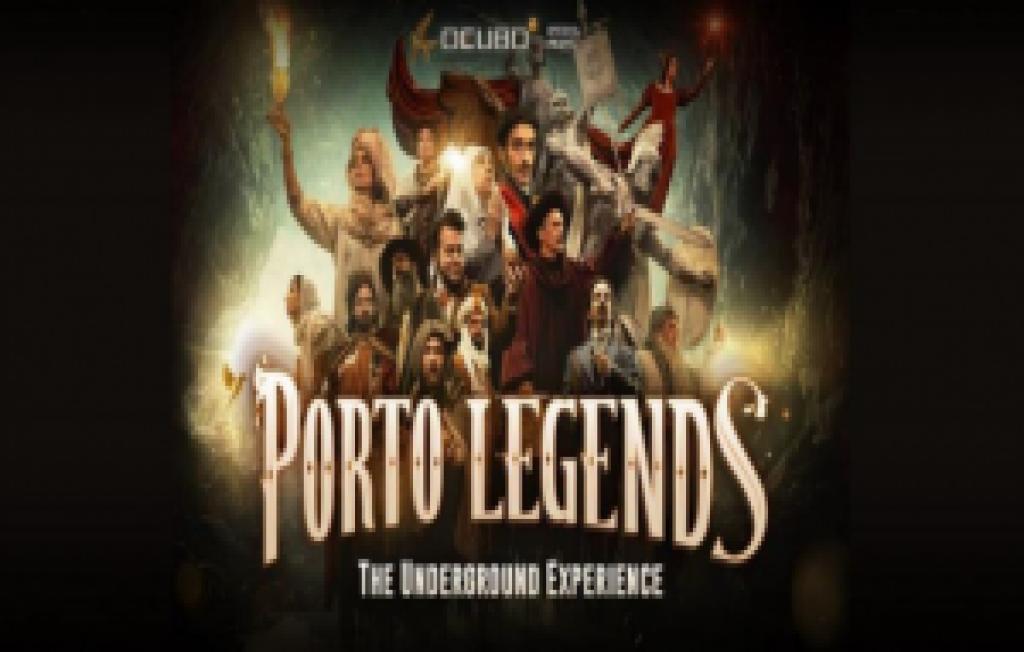 """PORTO LEGENDS-THE UNDERGROUND EXPERIENCE"" | ALFÂNDEGA DO PORTO"