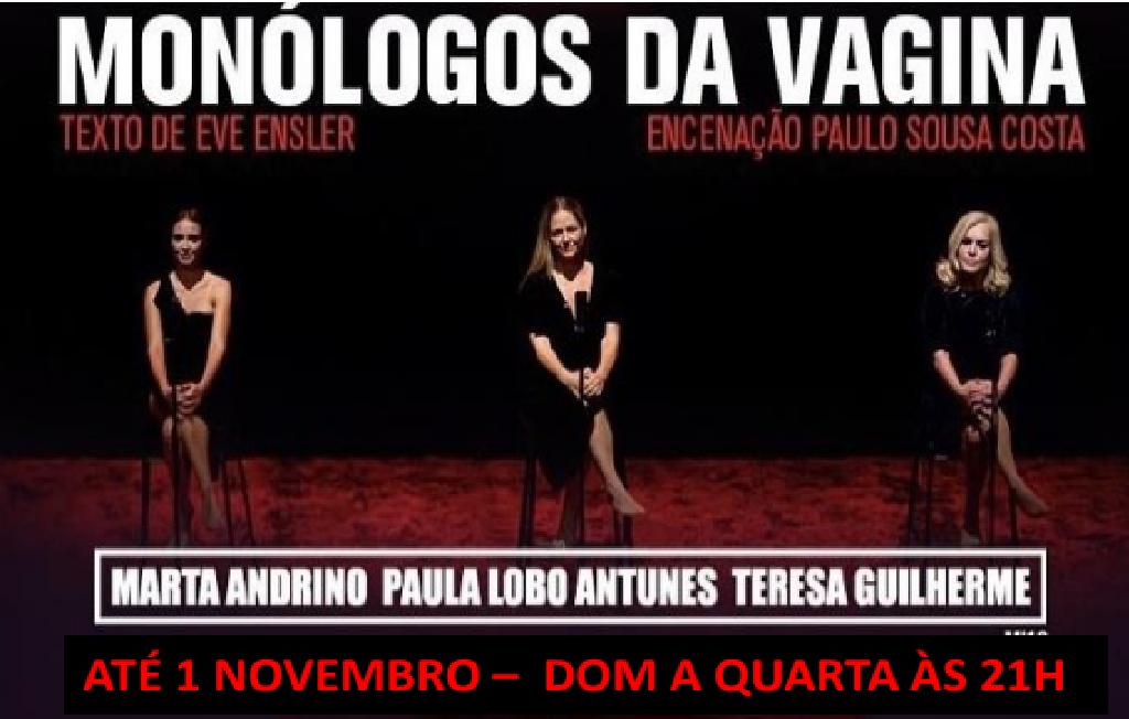 MONÓLOGOS DA VAGINA | TEATRO POLITEAMA ATÉ 01 NOVEMBRO