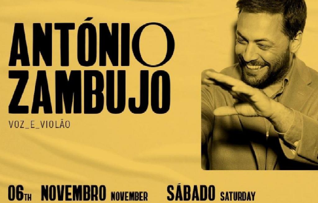 ANTÓNIO ZAMBUJO TEATRO DAS FIGURAS FARO | 06 NOVEMBRO PELAS 21H30